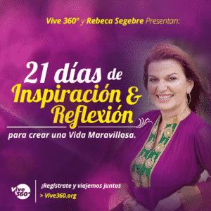 Inspiracion y reflexion con Rebeca Segebre